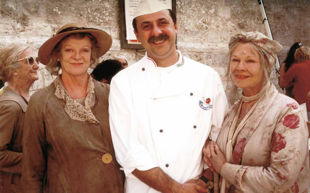 Maggie Smith Sergio and Judi Dench